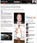 Brad Pitt Alice Eve and Chris Pine hit Paramount Pictures CinemaCon bash InStyle UK