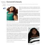 Eurocentric beauty Redbrick University of Birmingham