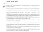 Love your bits Redbrick University of Birmingham