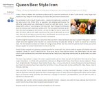 Queen Bee Style Icon Redbrick University of Birmingham