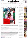 Taliban targets second feminist schoolgirl Marie Claire