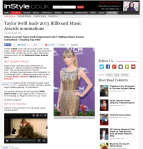 Taylor Swift leads 2013 Billboard Music Awards nominations InStyle UK